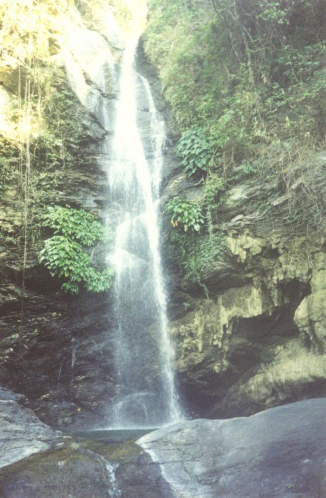 waterval in Oriental mindoro